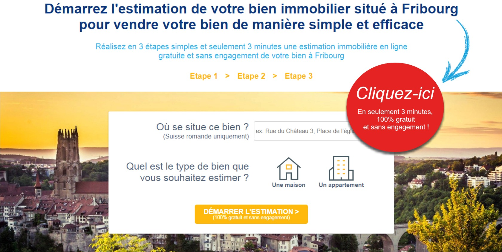 estimation prix immobilier fribourg