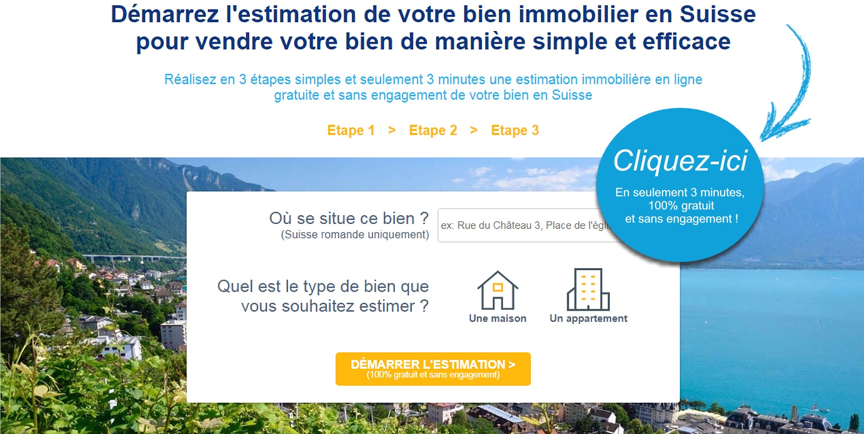 estimation en ligne gratuite sans inscription suisse