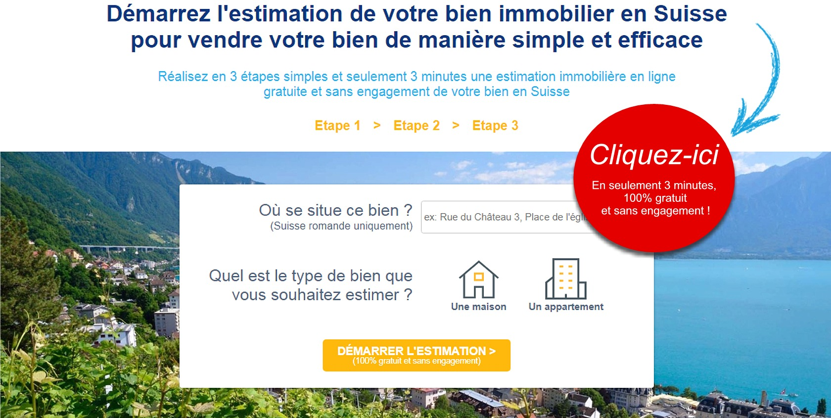 astuce vendre maison appartement vite rapidement suisse
